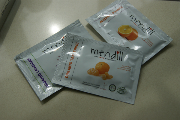 Mendill Organic Fruit Wipes