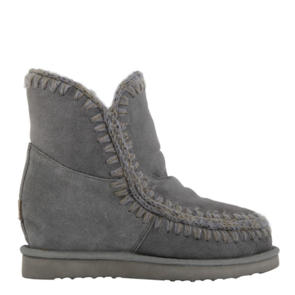 Mou Eskimo Internal Wedge Short Boot Iron £215