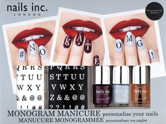 Nails Inc Monogram Mani