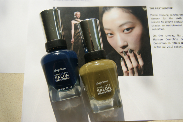 Sally Hansen Prabal Gurung