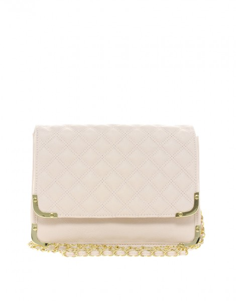 ASOS Quilted Metal Corner Bag