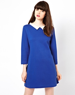 Jaeger Peter Pan Collar Dress