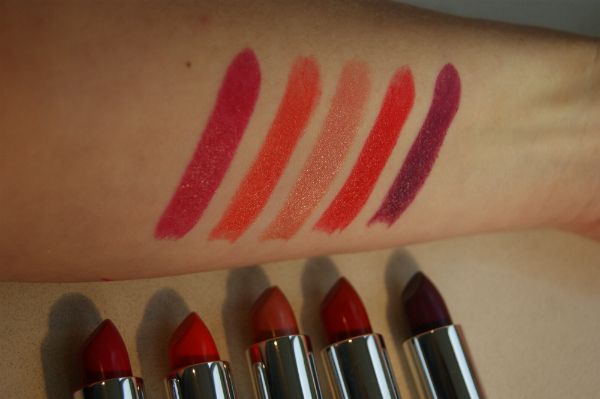 Rimmel London Lipstick Swatch 2
