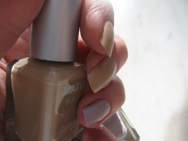 Barry M Matte Nails Swatch