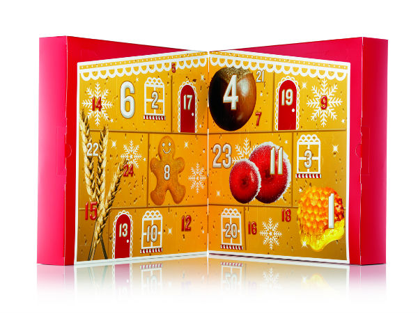 Body Shop Advent Calendar Open