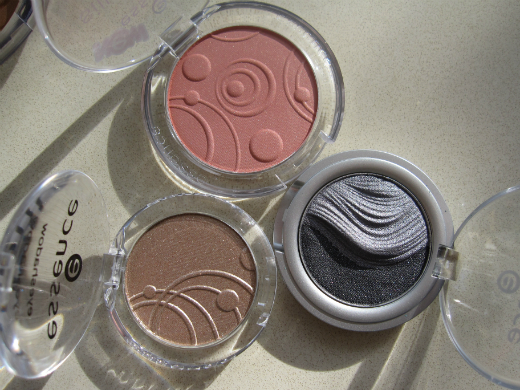 Essence Silky Touch Blush & Eye Shadows