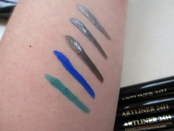 Lancome Art Liner Swatch