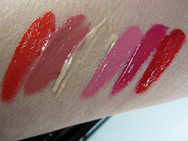 Lipstick Queen Vesuvius Swatch Arm