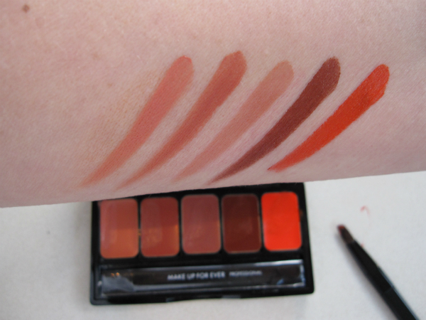 MUFE Rouge Artist No. 7 Swatch