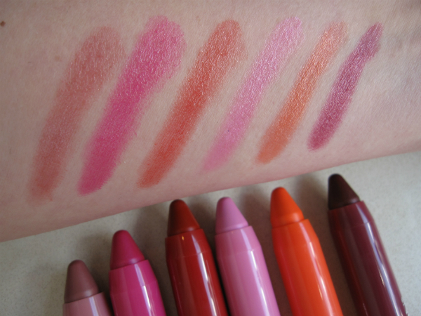 Revlon ColorBurst Crayon Balm Stains Swatch