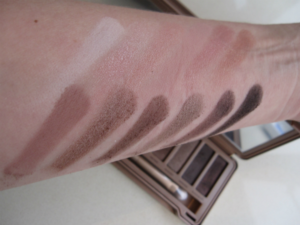 Urban Decay Naked 3 Swatch
