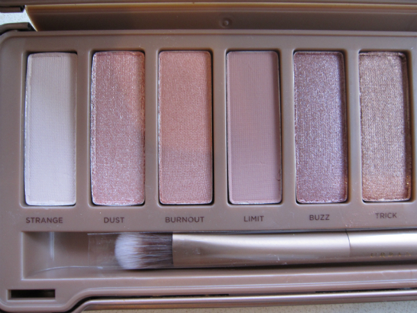 Urban Decay Naked 3 first 6