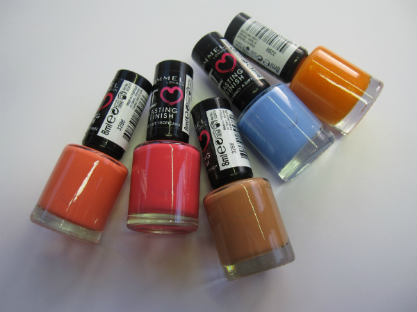 Rimmel London Nail Shades 2014