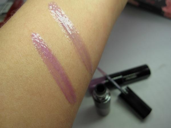 Shiseido Lacquer Gloss Swatch