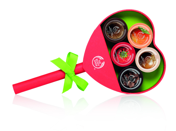 Body Shop Heart Lollipop