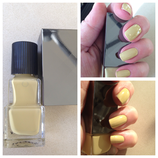 Burberry Pale Yellow