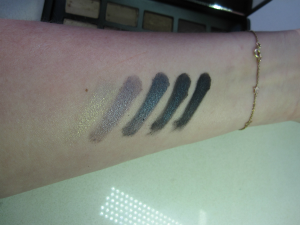 NARSissist Palette Bottom Row Swatch