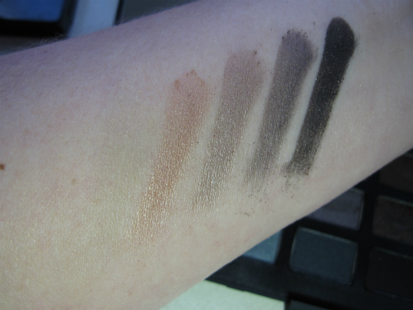 NARSissist Palette Middle Row Swatch