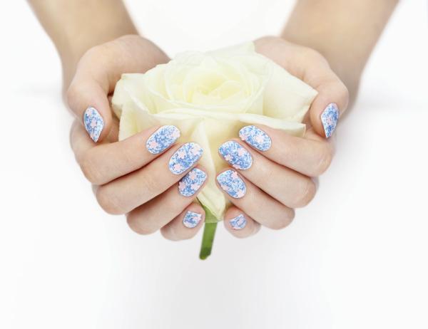 Nails Inc Floral