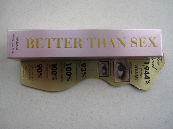 Too Faced Better Than Sex