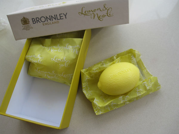 Bronnley Lemon Soap Box