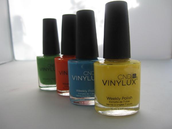 CND Vinylux Spring 2014