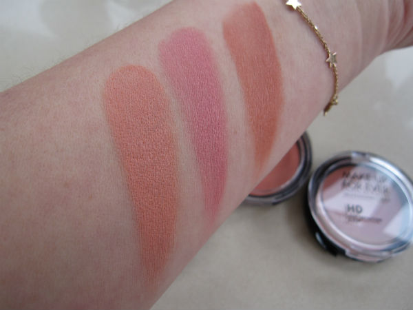 MUFE Blush Swatch