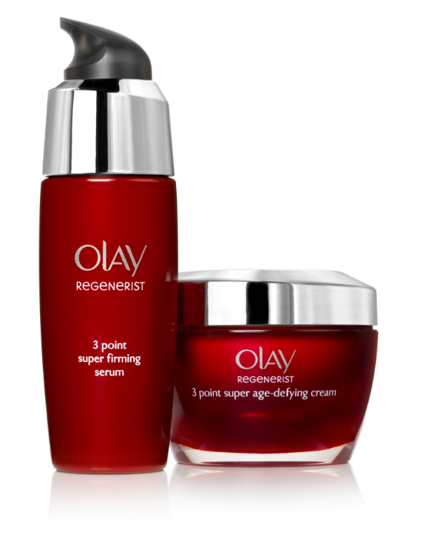 Olay Regenerist 3 Point Super Age Defying Cream and Super Firming System