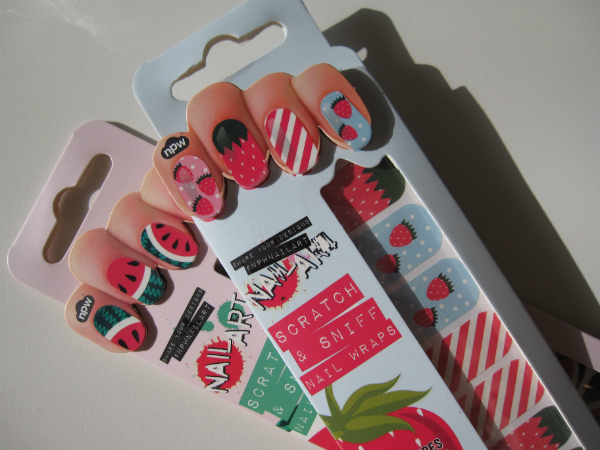 Scratch N Sniff Nails
