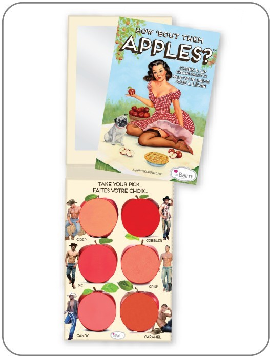 thebalm How About The Apples Cheek Palette