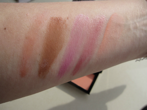 Sephora Palette Swatch Lips Blush