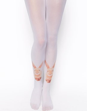 ASOS Rabbit Print Tights