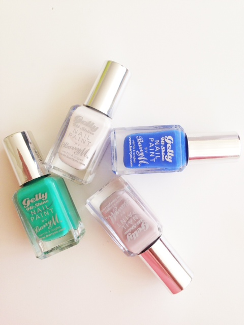 Barry M Gelly Nails Summer 2014