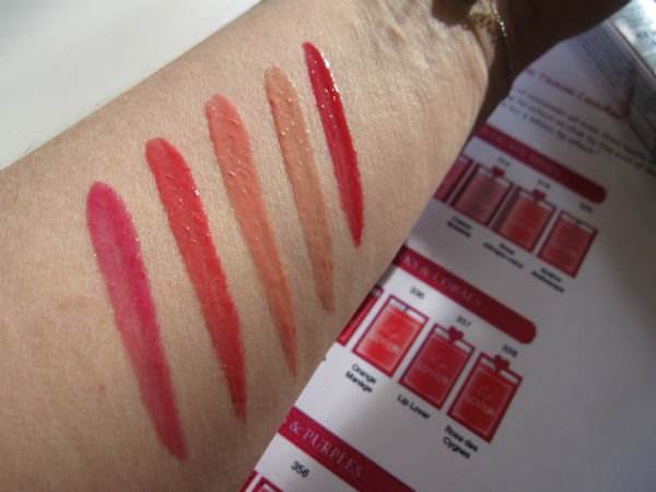 Lancome Lip Lovers Swatch