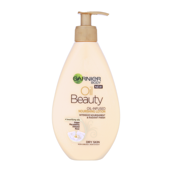 Garnier beauty oil lotion