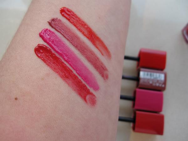 Bourjois Lip Velvet Swatch