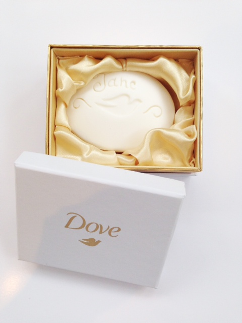 Dove Personlised Soap