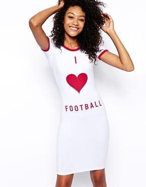 ASOS I Heart Football Dress