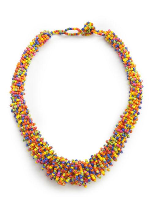 Mango Bead Necklace