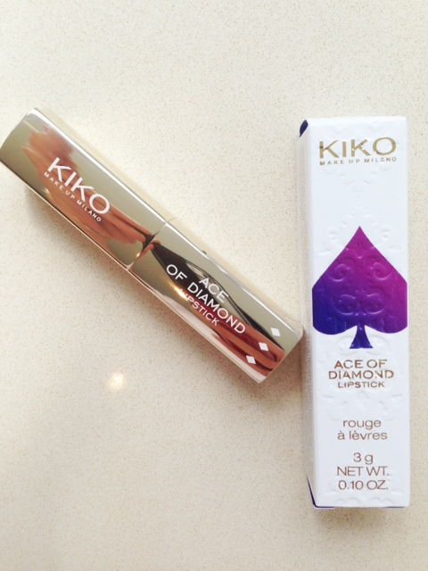 Kiko Ace of Diamond Lipstick